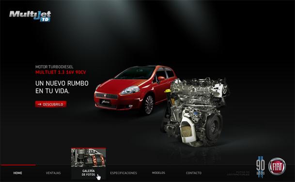 Fiat JTD Diesel Engine
